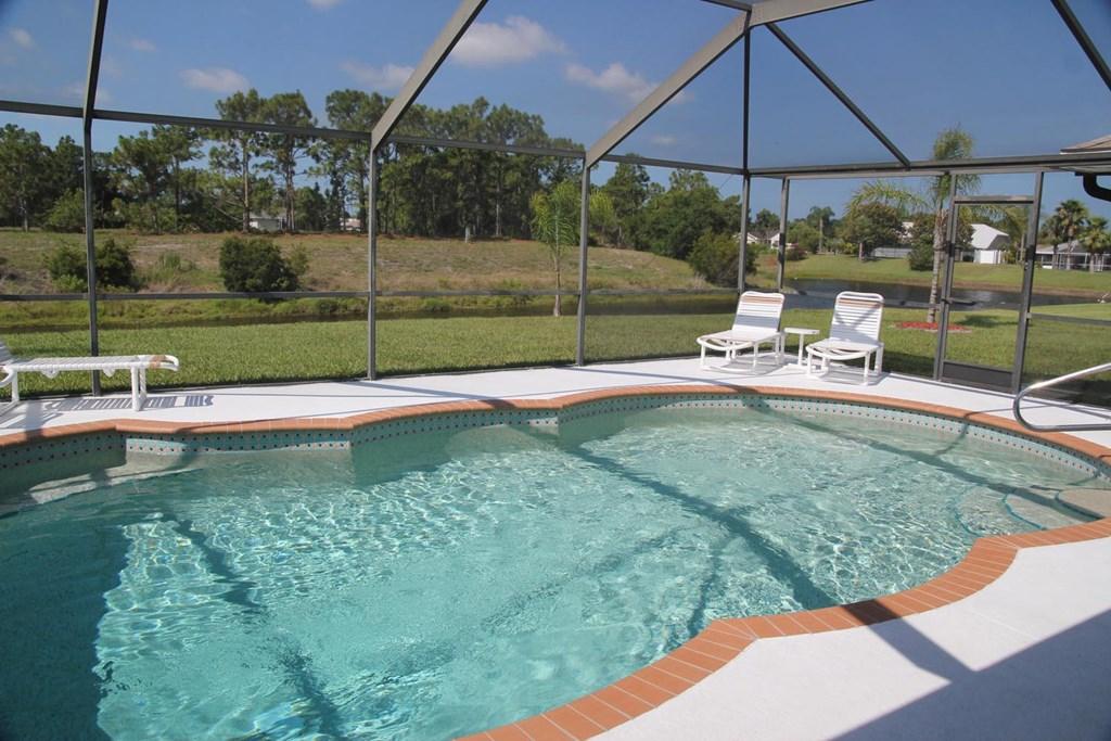 Droom villa in Florida dicht bij de golf van Mexico. Last minute van 8 tot 19 juli slechts € 90,00 per nacht. En van 18 aug. tot 29 sept. € 99,00.