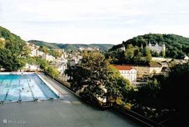 Swimming in Karlovy Vary