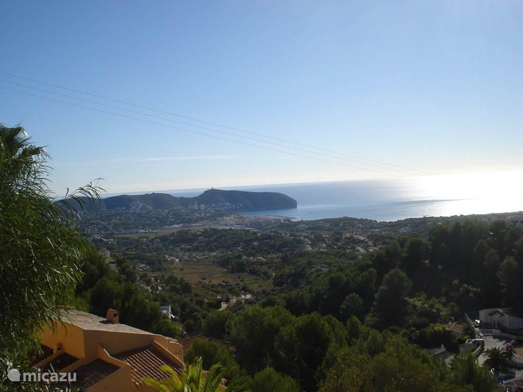Uitzicht vanuit het huis