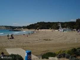 Het strand Moraira