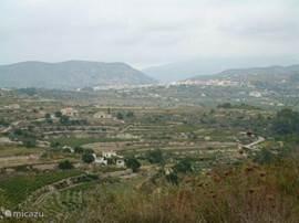 Gezicht op Teulada op 50 meter van de Urbanisatie