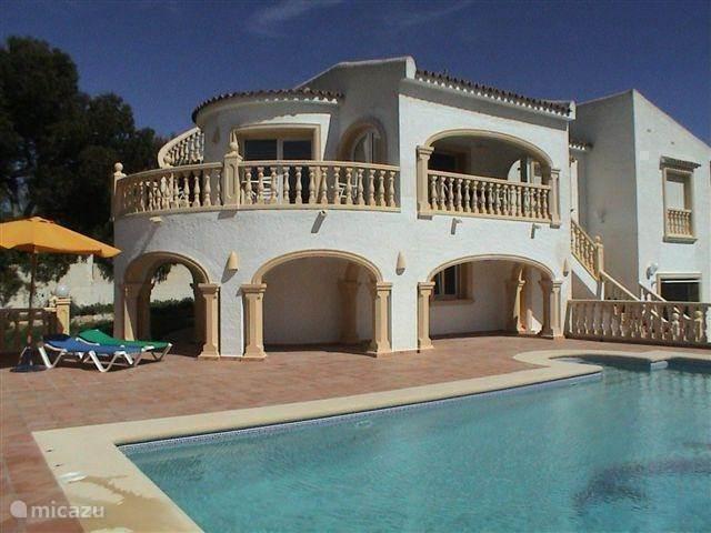 Vakantiehuis Spanje, Costa Blanca, Moraira villa Costa Azul