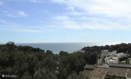 Wijds uitzicht over Middellandse Zee