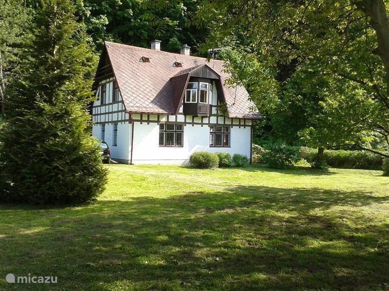 Vacation rental Czech Republic – holiday house Villa Jizera
