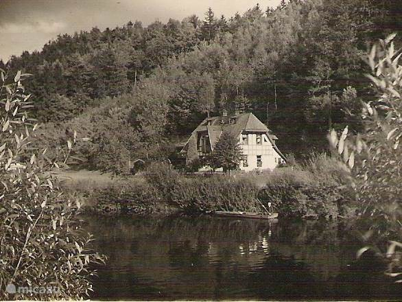 Villa Jizera in the 30s.