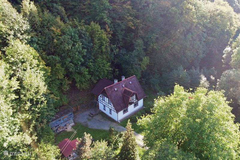 Vakantiehuis Tsjechië, Oost-Bohemen, Turnov Vakantiehuis Villa Jizera