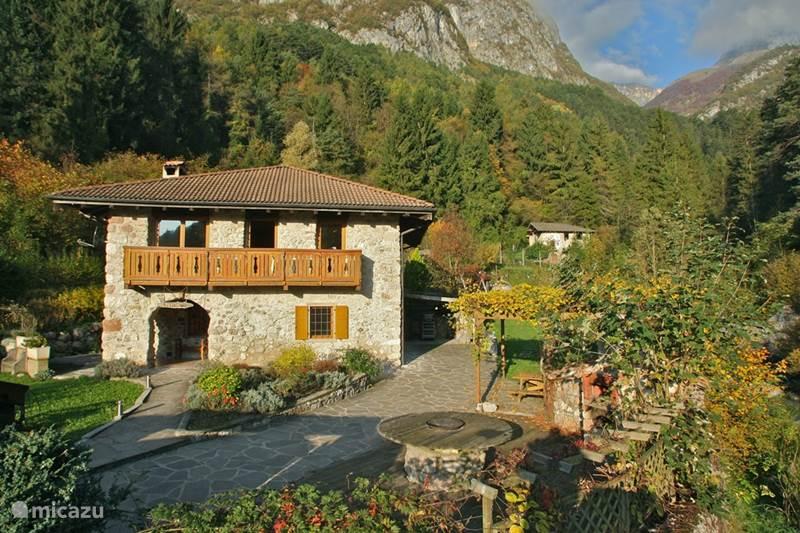 Vakantiehuis Italië, Dolomieten, Andogno Vakantiehuis La Bella Vita