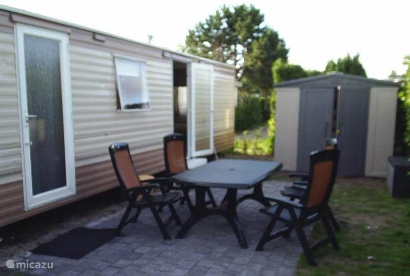 Vakantiehuis Nederland, Zeeland, Renesse Stacaravan Stacaravan