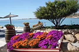 Cabo Roig, uitzicht vanaf het restaurant
