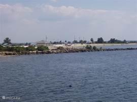 Fort Island is een klein maar gezellig strandje aan de Golf van Mexico op ca. een half uur rijden van Inverness.