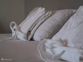 Fris en wit linnengoed... verwennen!