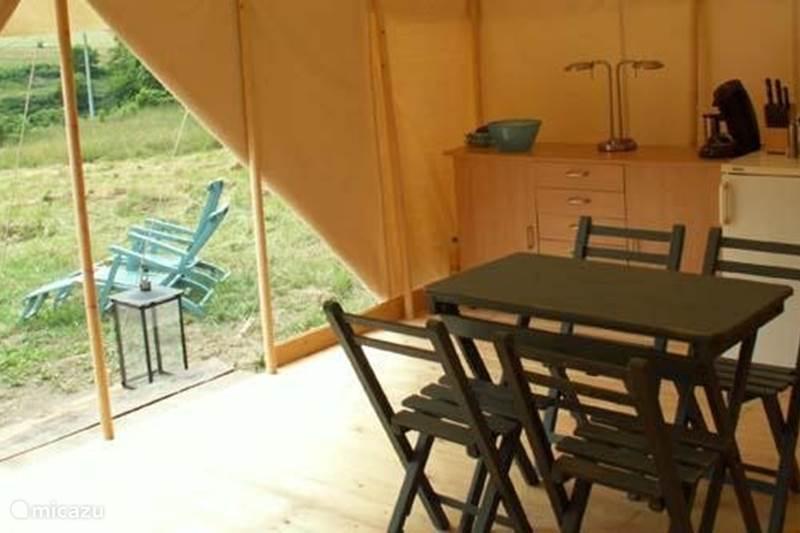 Vakantiehuis Frankrijk, Haute-Vienne, Coussac-Bonneval Glamping / Safaritent / Yurt Safari House Tent