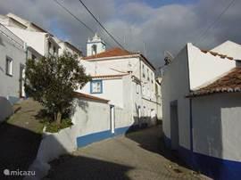Het authentieke dorpje Sao Martinho das Amoreiras