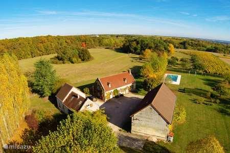 Vakantiehuis Frankrijk, Loir-et-Cher, Montrichard vakantiehuis La Ferme - Les Drageonnières