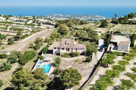 Vakantiehuis Spanje, Costa Blanca, Moraira - finca *** Finca Zanzibo ***