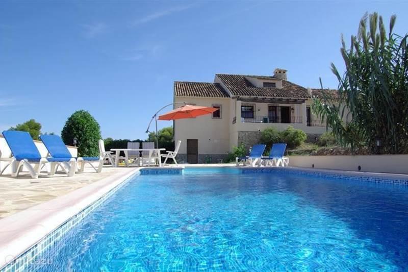 Vakantiehuis Spanje, Costa Blanca, Moraira Finca *** Finca Zanzibo ***
