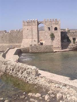 The fortress of Methoni
