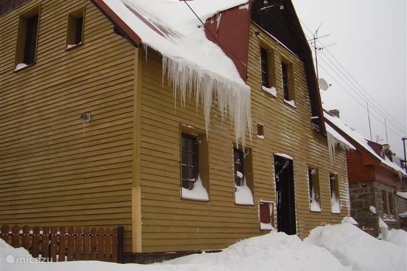 Vakantiehuis Tsjechië, Ertsgebergte, Abertamy Vakantiehuis Huis Abertamy 'winter'