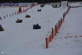 Snowtubing in skigebied Novako (Bozi Dar)