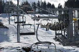 Stoeltjeslift skigebied Plesivec