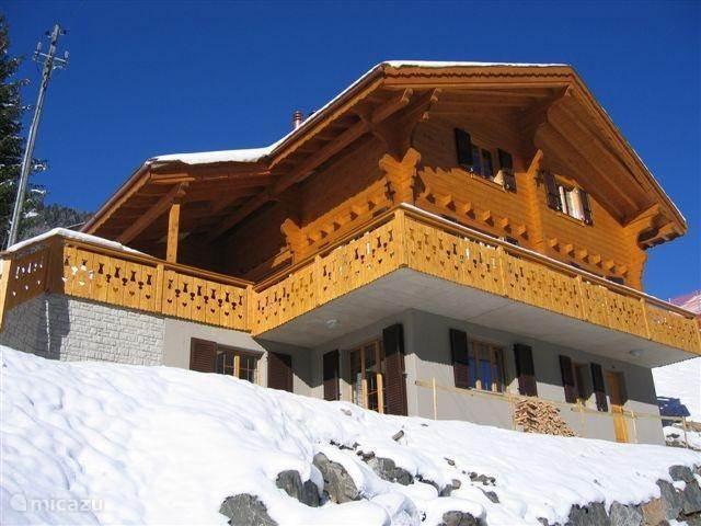 Vakantiehuis Zwitserland, Wallis, Val d'Illiez chalet Chalet Logo