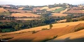 prachtig landschap omgeving Fratterosa.