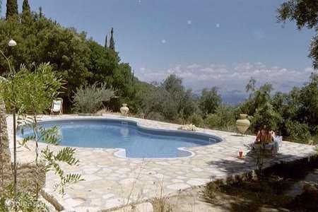 Vakantiehuis Griekenland, Corfu, Stavros Goevinas villa Villa Chrysantos