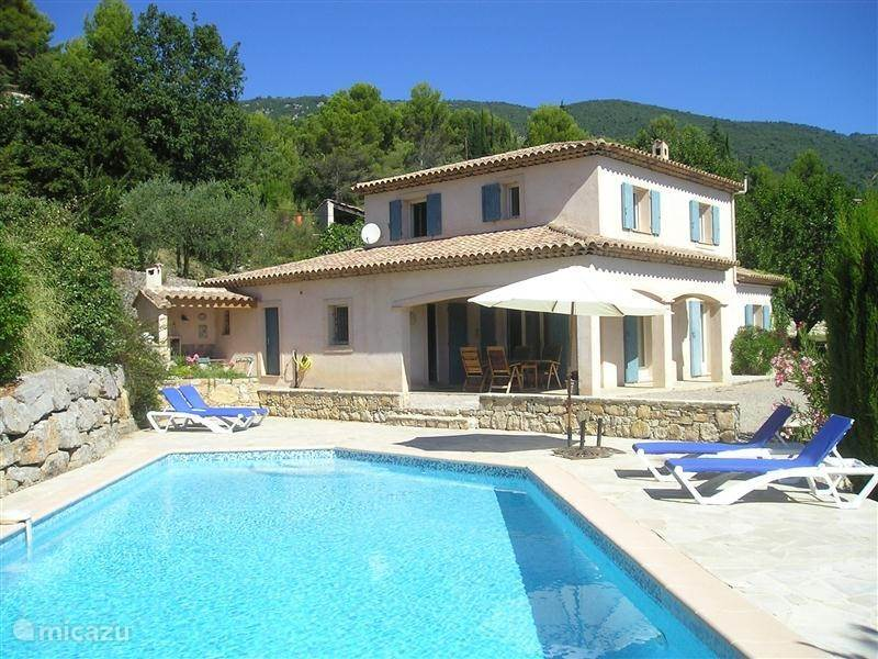 Vacation rental France, French Riviera, Seillans - villa Les Oliviers