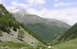 heerlijk wandelen en picnicken in het nationale park van de Sibilini.