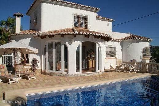 Villa Verde in Moraira - Alicante