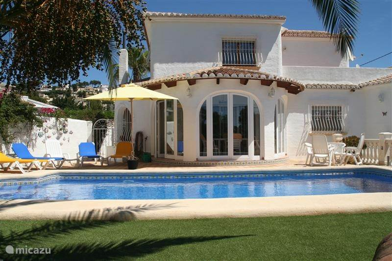 Vakantiehuis Spanje, Costa Blanca, Moraira villa Villa Verde