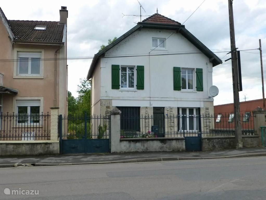Voorkant huis