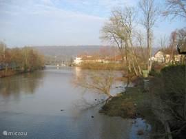 La Meuse ( de Maas) in de winter