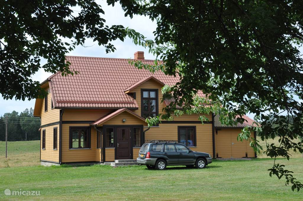 Vacation rental Latvia – holiday house Lacsetas - Beverhuis