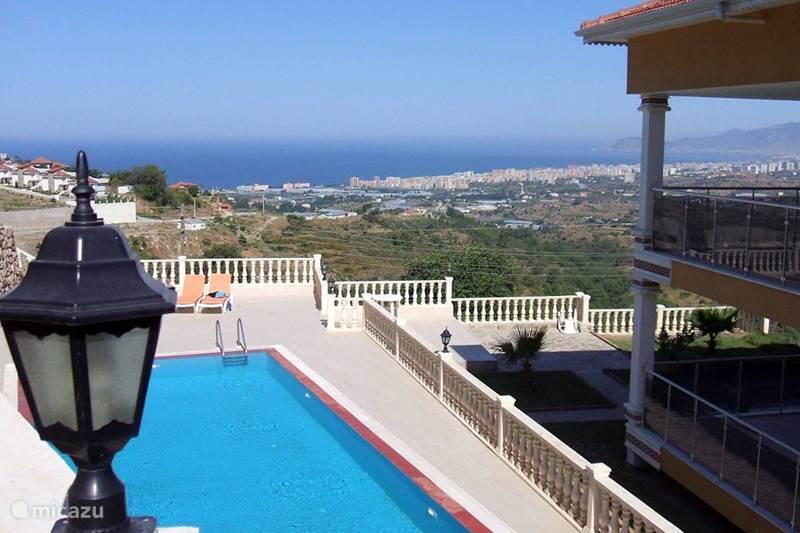 Vakantiehuis Turkije, Turkse Rivièra, Kargicak Appartement Manzara (uitzicht)