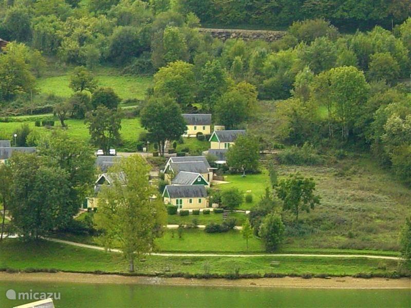 Vakantiehuis Frankrijk, Dordogne, Chasteaux bungalow Parc Port Couzages 23, huis Pondok