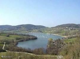 het meer: Lac du Causse