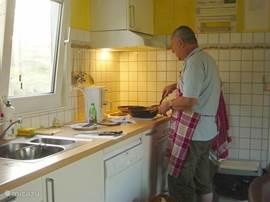 de goed voorziene keuken