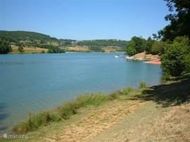 Lac du Causse, aan de voet van het park