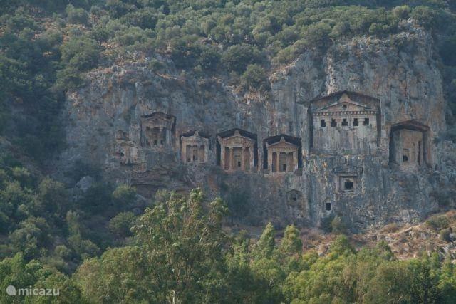 Ligging villa Turkoase