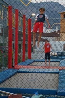 trampoline in Gocek