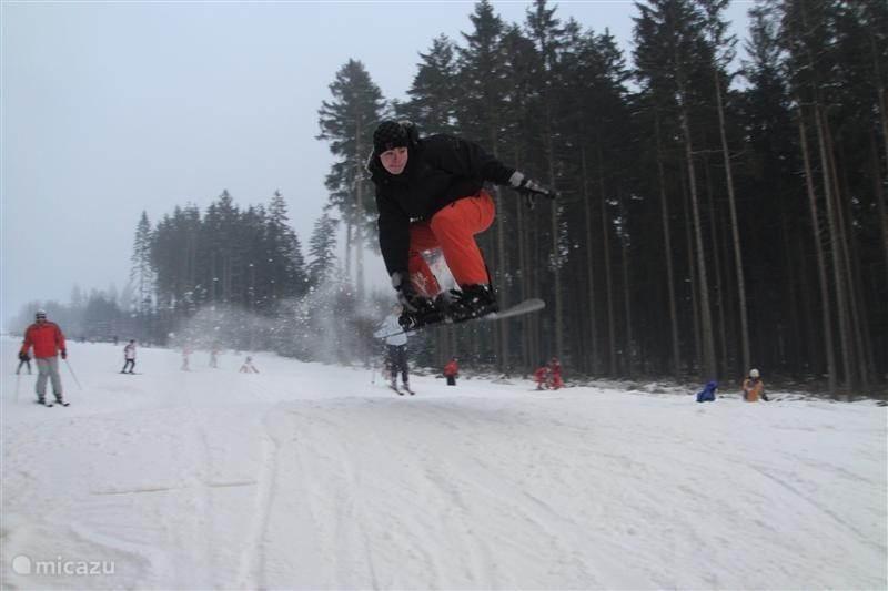 Skigebied aan huis!