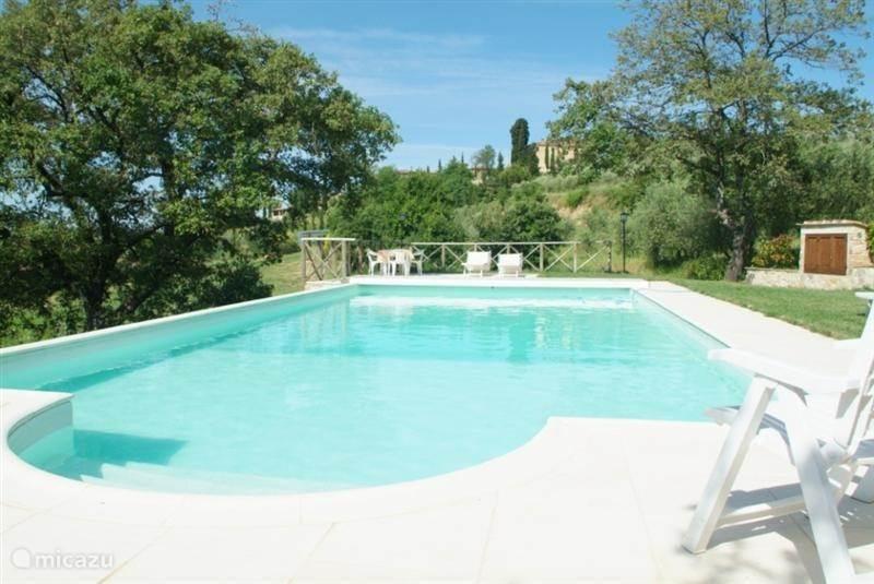 Vakantiehuis Italië, Toscane, Asciano - Siena - boerderij Podere Alberese