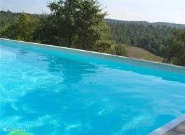 Uitzicht vanaf het zwembad