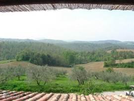 Het fenomenale panorama vanuit het terras van onze luxe kamer Torita