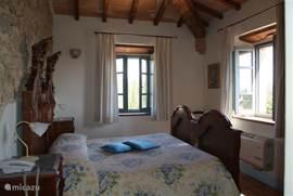 Slaapkamer in luxe kamer