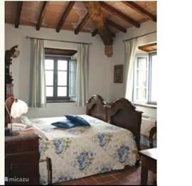 Voorbeeld van één van de luxe slaapkamers