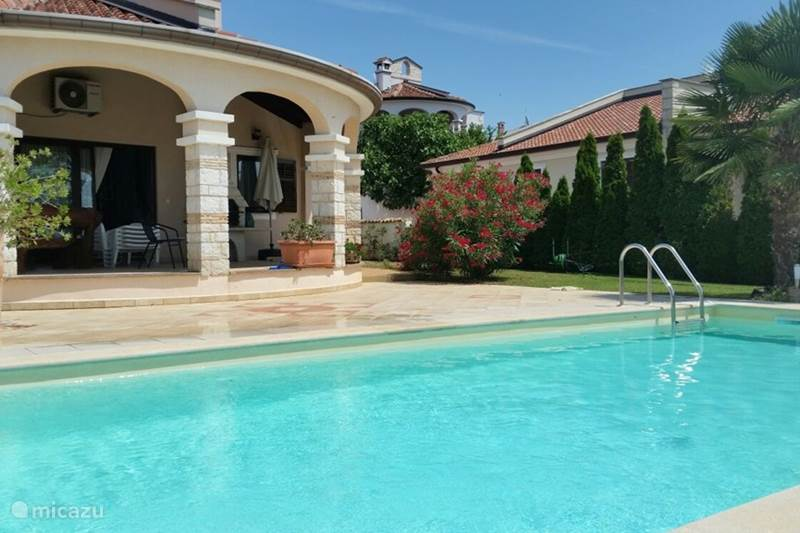 Vacation rental Croatia, Istria, Porec Villa Villa Parenzo with Pool and seaview