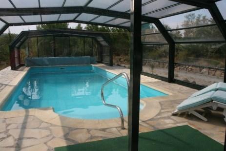 van 23/06 - 14/07 nog vrij; heerlijk vakantiehuis zeer rustig gelegen met zwembad; korting 10% pw.  en let op: alles, maar dan ook alles ALL IN!