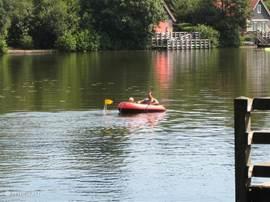 Lekker bootje varen op het grote meer